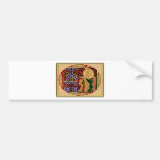 ReikiHealingArt Symbols Apr 2011 Bumper Sticker