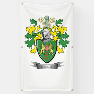 Reilly Coat of Arms Banner