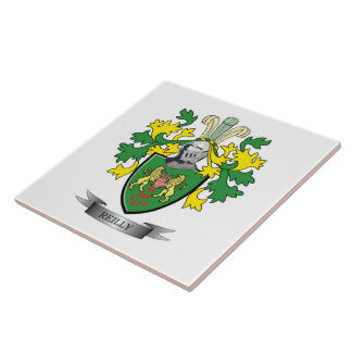 Reilly Coat of Arms Ceramic Tile