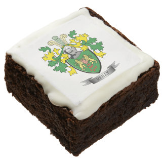 Reilly Coat of Arms Chocolate Brownie