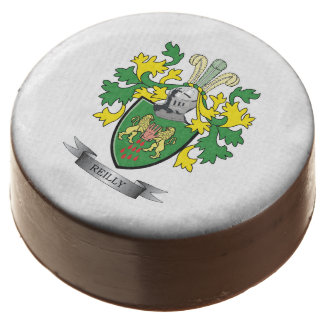 Reilly Coat of Arms Chocolate Covered Oreo