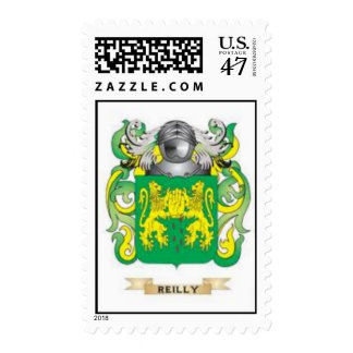 Reilly Coat of Arms Family Crest Postage Stamp