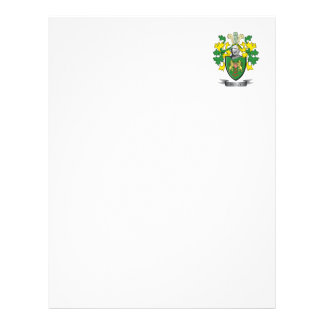 Reilly Coat of Arms Letterhead