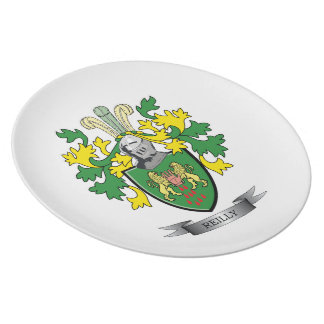 Reilly Coat of Arms Melamine Plate