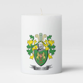 Reilly Coat of Arms Pillar Candle