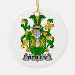 Reilly Family Crest Christmas Ornaments