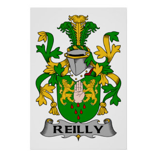 Reilly Family Crest Poster