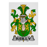 Reilly Family Crest Posters