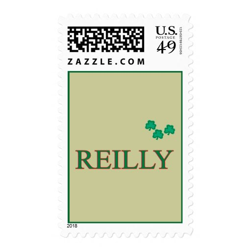 Reilly Family Postage Stamps