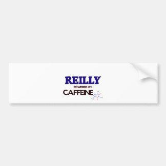 Reilly powered by caffeine bumper sticker
