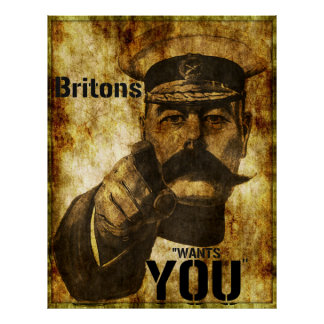 Reimagined Lord Kitchener Wants You Poster