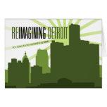 Reimagining Detroit Greeting Card