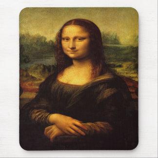 Reimpresión de Mona Lisa Alfombrillas De Ratones