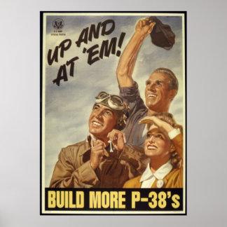 Reimpresión de un poster de la propaganda de WWII