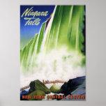 Reimpresión de un poster del turismo de los E.E.U.