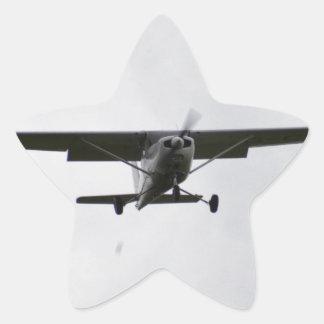 Reims Cessna en finales Pegatina En Forma De Estrella