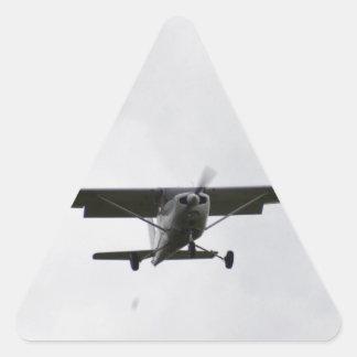 Reims Cessna en finales Pegatina Triangular