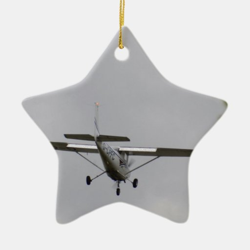 Reims Cessna F152 Christmas Ornaments