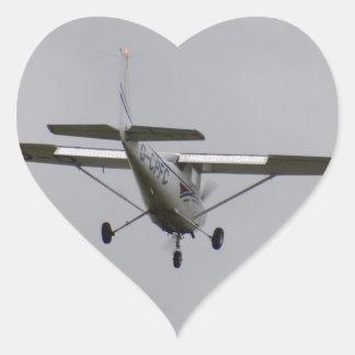 Reims Cessna F152 Pegatina De Corazon Personalizadas