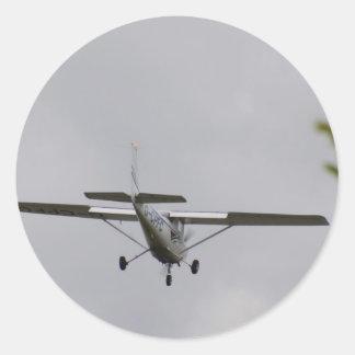 Reims Cessna F152 Pegatinas Redondas