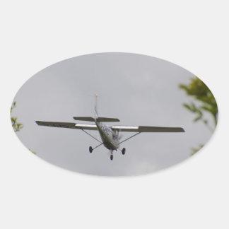 Reims Cessna F152 Calcomanías Ovaladas Personalizadas