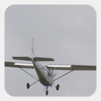 Reims Cessna F152 Calcomania Cuadradas Personalizadas