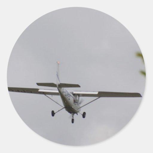 Reims Cessna F152 Pegatina Redonda