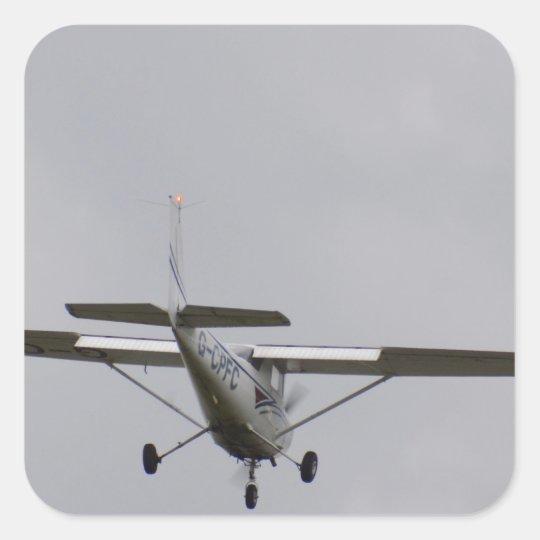 Reims Cessna F152 Square Sticker