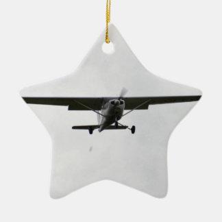 Reims Cessna On Finals Ceramic Ornament