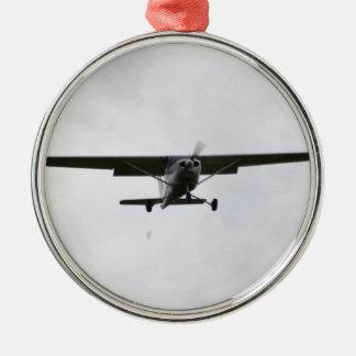 Reims Cessna On Finals Metal Ornament