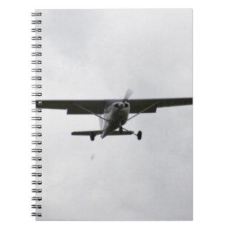 Reims Cessna On Finals Spiral Notebook