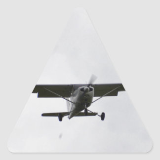 Reims Cessna On Finals Triangle Sticker