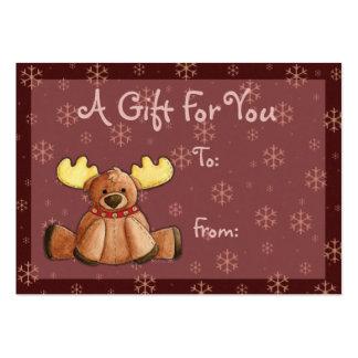 Rein-dear Gift Tag Business Card