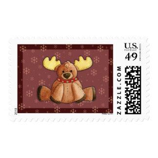 Rein-Dear Postage Stamp