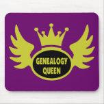 Reina 2 de la genealogía alfombrilla de raton