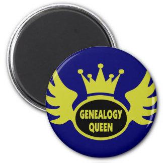 Reina 2 de la genealogía iman de frigorífico
