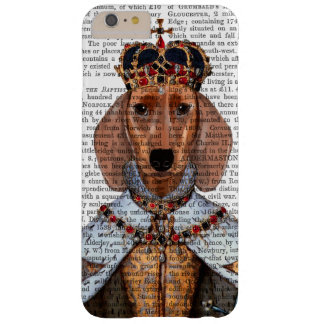 Reina 2 del Dachshund Funda Para iPhone 6 Plus Barely There