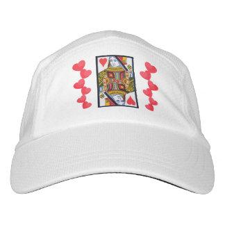 Reina adornada colorida del vintage con los gorra de alto rendimiento