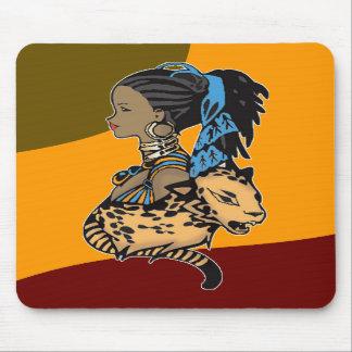 Reina africana alfombrillas de ratones