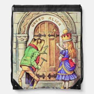 Reina Alicia y la mochila del color de la rana