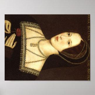 Reina Ana Bolena de la impresión de Inglaterra