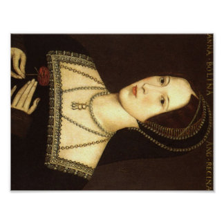 Reina Ana Bolena de la impresión de Inglaterra Póster