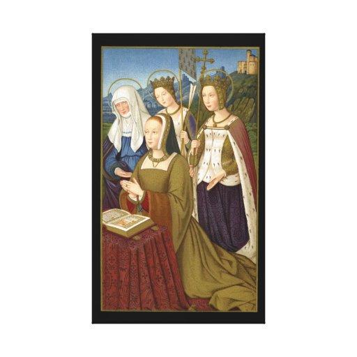 Reina Anne de Bretaña Impresión De Lienzo