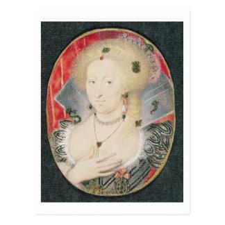 Reina Anne de Dinamarca, miniatura Tarjeta Postal