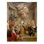Reina Anne que presenta planes de los militares de Postal