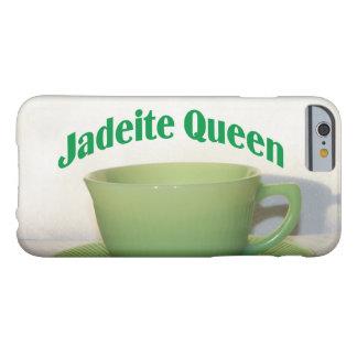 Reina antigua de la jadeíta de los coleccionables funda para iPhone 6 barely there