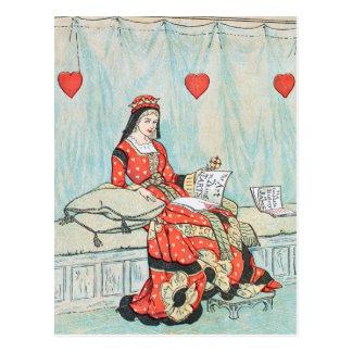 Reina antigua de Randolph Caldecott de la Postal