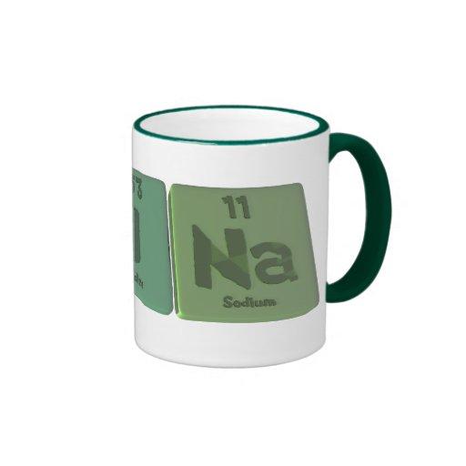 Reina as Rhenium Iodine Sodium Ringer Coffee Mug