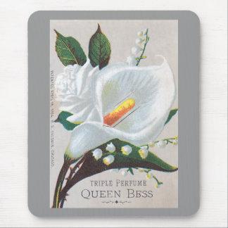 Reina Bess del perfume de la tripa del vintage Tapetes De Raton