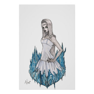 Reina blanca como la nieve posters